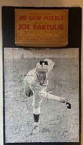"1933 Buffalo Bison Joe ""Bar"" Bartulis Orig. Promo #'d Puzzle & Box MISSING 2 Pcs"