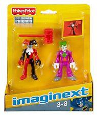 Imaginext DC Super Friends-Le Joker et Harley Quinn * Brand New *