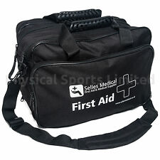Large First Aid Holdall Bag | Black, Empty