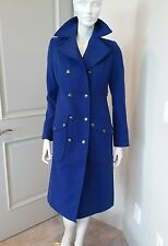 Free People Cobalt Blue Coat Jacket Sz 2 XS NWT
