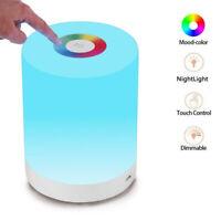Eg _ à Variation RGB Changeable Couleur LED Veilleuse Touche Contrôle Chevet
