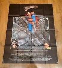 affiche cinema movie poster 120x160 superman