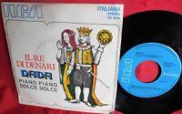 NADA Il re di denari + Piano piano dolce dolce 45rpm 7' + PS 1972 EX