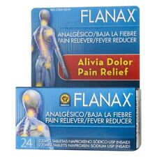 Flanax Pain Reliever/Fever Reducer Tablets, 220mg 24 ea