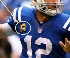 2016 SEASON COLTS ANDREW LUCK CAPTAINS JERSEY FOUR-STAR NAVY BLUE GOLD C-PATCH
