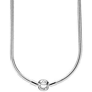 Original PANDORA® Halskette Kugelverschluss 590742 HV Silber