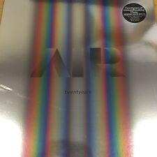 AIR 'TWENTYEARS' SEALED 2016 2x COLOURED VINYL LP + 3x CD BOX SET DELUXE EDITION