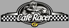 Dept 47  LOT ET GARONNE - CAFE RACER  bretagne logo sticker