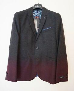 TED BAKER London RRP$659 Men's Wool Blazer SizeT4 AU40 UK Large