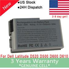 New Laptop Battery for Dell Latitude D520 D500 D510 D600 D610 C1295 YD165 J2178