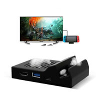 Pocket Portable Dock HDMI USB Replacement Docking Station For Nintendo Switch