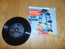 """Holiday Carnival / Cliff Richard and The Shadows 7"""" Vinyl Record 45 RPM EP 1963"""