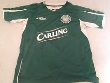 MAILLOT FOOTBALL CELTIC GLASGOW / ECOSSE TAILLE 6 / 7 ANS