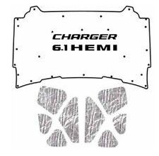 2005 2010 Dodge Charger Under Hood Cover with MCH-061 HEMI 6.1 Liter