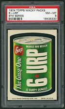 1974 Topps Wacky Packages Sticker 6 URP 9th Series PSA 8 Non-Sports