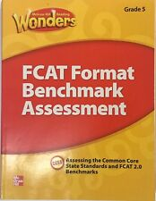 McGraw Hill Wonders Grade 5 FCAT Format Benchmark Assessment Florida Reading