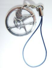 Silver Mockingjay Phone Charm Gift Bag iphone Nokia Samsung Hunger Games Hauwei