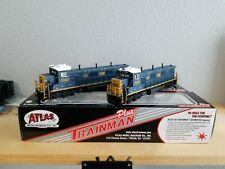 HO Scale Atlas CSX Gensets 1302 and 1303 DCC Ready