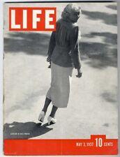 LIFE Magazine 1937 JEAN HARLOW Movie Stars SHIRLEY TEMPLE Edward Hopper Artist