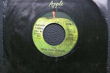 """7"""" John Lennon - Instant Karma - US Apple"""