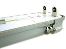 Plafoniera Stagna Doppio Tubo Led T8 120cm X 2 Neon A Led Impermeabile IP65 Este