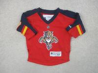 Reebok Florida Panthers Jersey Toddler 24 Months Red Blue Hockey NHL Baby Boys