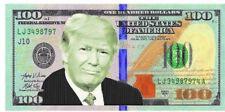 Trump $100 Bill Beach Towel