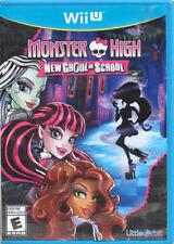 Monster High New Ghoul in School Wii-U New Nintendo Wii U, Wii U