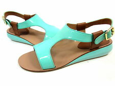 KELSI DAGGER, GALINA SANDAL, JADE, WOMENS, US 6.5 M, EURO 36.5, NEW IN BOX