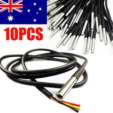 10x  Waterproof DS18B20 Temperature Temp Sensor Digital Thermal Probe 1M AU NSW