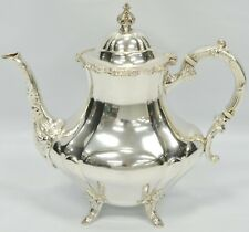 Reed & Barton Sterling Silver GEORGIAN ROSE Tea Pot Coffee Pot 670
