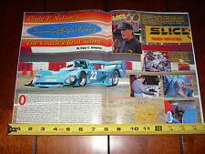 CRAIG T NELSON THE COACH RACE TEAM SWIFT DB5 - ORIGINAL 1995 ARTICLE