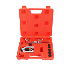 Flaring Brake Line Tool Kit Tubing Car Truck Tool with Mini Pipe Cutter Double