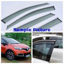Renault Captur 2013-2017 SIDE WIND DEFLECTORS WINDOW TINTED SMOKE VISOR 4PCS