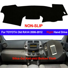 For TOYOTA RAV4 2006 - 2012 Dash Mat Silicone Dashboard Cover Right Hand Drive