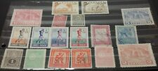 Lot of 18 Postage Stamps from Paraguay older, colorful Nmvf Various $, size, dat