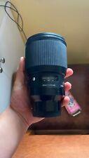 New listing Sigma 85mm F1.4 Dg Hsm Art Lens for Sony E Mount - Black
