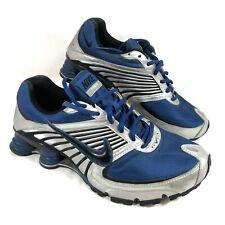 GUC Men's Nike SHOX Turbo 8 Running Shoes Blue Sz 9