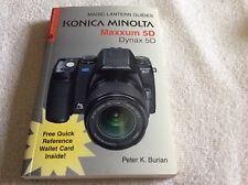 Konica-Minolta Maxxum 5D. Guide Book.  Mint. Read.