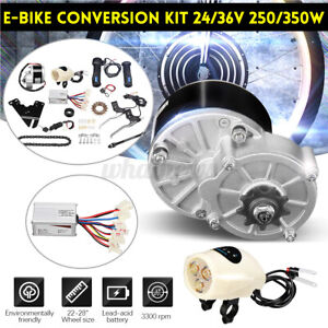 UK Electric Bicycle Motor Conversion Kit 24V 250W For 22-28 inch ordinary Bike !