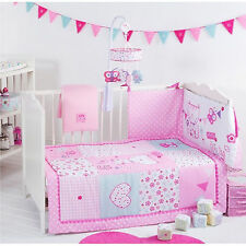 Pink Pretty Kitty Inspired Design Cosi Cot Girls Room Bedding Set Red Kite