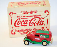 COCA COLA CHRISTMAS 1996 ERTL 1932 FORD Panel Delivery Truck In Wood Box NEW