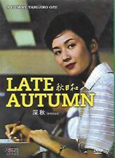 Late Autumn DVD Yasujiro Ozu Setsuko Hara Japanese NEW R0 Eng Sub 1960