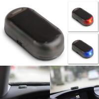 Auto Car Solar Led Light Energy Dummy Security Anti-theft Warning Flash Alarm AU