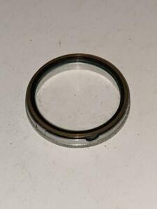 Vintage Actina Filter holder Glass Lens Filter Screw  on 32mm Magnifiing Filter