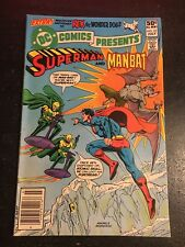 DC Comics Presents#35 Awesome Condition 7.5(1981) Man-bat App, Andru Cover