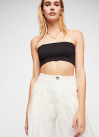 NEW Free People Intimately Seamless Not So Basic Bandeau Black XS/S-M/L $26.49