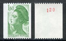STAMP / TIMBRE NEUF N° 2222a ** LIBERTE DELACROIX ROULETTE N�� ROUGE AU DOS