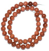 AAA 8.5 Inch Strand 8x10-9x12mm Natural Sparkling Sunstone Smooth Oval Beads Strand-Sunstone Oval Beads 19 Beads ApxStrand 0388-0389