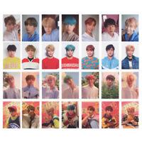 7Pcs Kpop BTS Love Yourself Transparent Card Bangtan Boys JIMIN SUGA Photocards